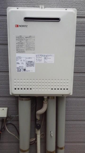 新潟修理交換センター・ガス給湯器の取り替え工事 新潟県新潟市 GT-2450SAWX-2BL