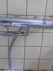 水漏れ修理 新潟県三条市 浴室サーモ付シャワー混合水栓交換工事  TOTO TMGG40E