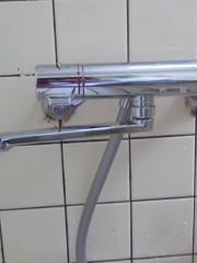 新潟 水漏れ修理 新潟県新潟市 浴室水栓交換TOTO TMGG40E
