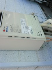 新潟県 長岡市 ガス給湯器交換工事 新潟県長岡市 ノーリツGT-C2452SAWX-2BL