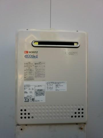 給湯器修理交換 新潟県上越市 GT-C2452SAWX-2BLノーリツエコジョーズ給湯器