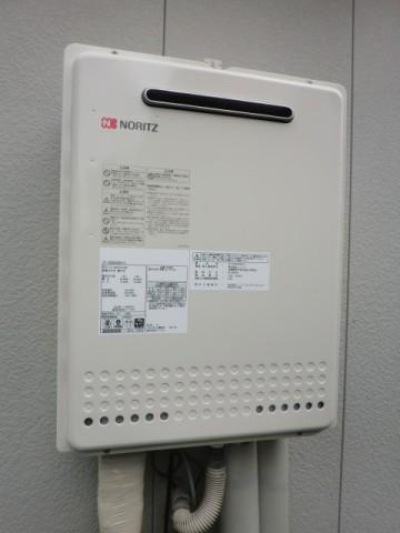 給湯器交換 新潟県柏崎市 GT-2450AWX-2BLノーリツ給湯器
