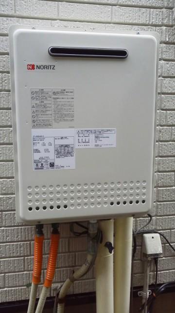 ガス給湯器交換工事 新潟県新潟市 ノーリツ GT-2450SAWX-2BL