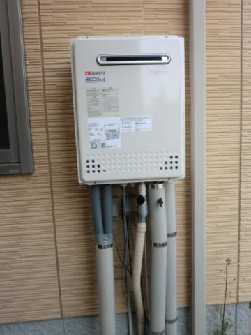 エコジョーズガス給湯器交換工事 新潟県新潟市 ノーリツGT-C2452SAWX-2BL
