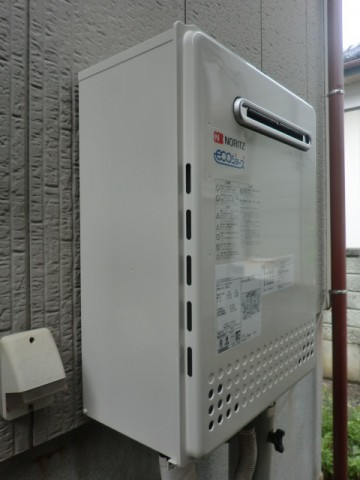 給湯器修理 新潟県新発田市 GT-C2052SAWX-2BLノーリツ給湯器