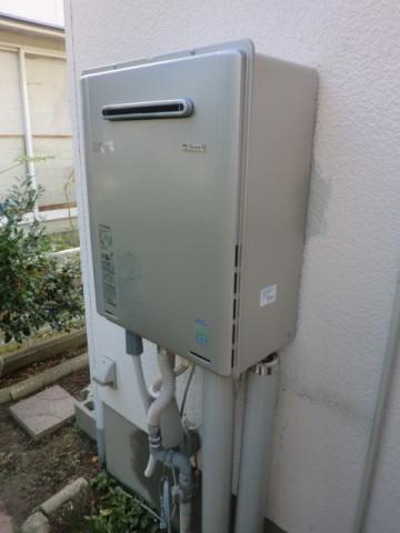 給湯器交換 新潟県新潟市 RUF-E2405SAWリンナイエコジョーズ給湯器