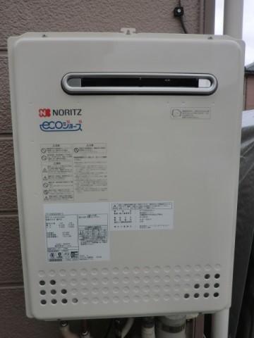 給湯器修理交換 新潟県長岡市 GT-C2452SAWX-2BLノーリツエコジョーズ給湯器