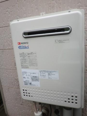 給湯器故障 新潟県柏崎市 GT-C2452AWX-2BLノーリツエコジョーズ給湯器