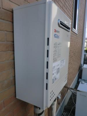 給湯器交換 新潟県新潟市 GT-C2452AWX-2BLノーリツエコジョーズ給湯器