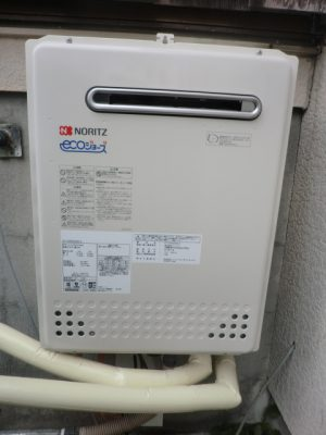 給湯器 新潟県三条市 GT-C2452AWX-2BLノーリツエコジョーズ給湯器